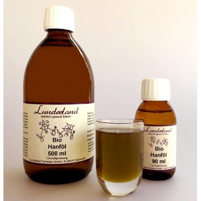 Bald lieferbar! Lunderland Bio Hanföl 90 ml