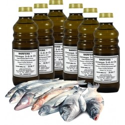 DHN BARFERS® Omega 3-6-9 Öl 6x250 ml