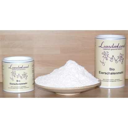 Lunderland Bio Eierschalenmehl 800 g