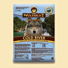 Wolfsblut Cold River mit Forelle 15 Kg