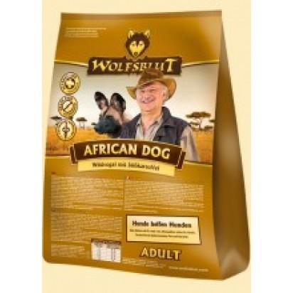 Wolfsblut African Dog Trockenfutter für Hunde mit Wildvogel und Süßkartoffel - 15 kg